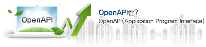 OpenAPI란? OpenAPI(Application Program Interface)